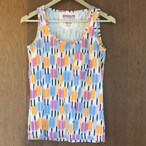Brooklyn Industries Ice Pop Tank Size Small